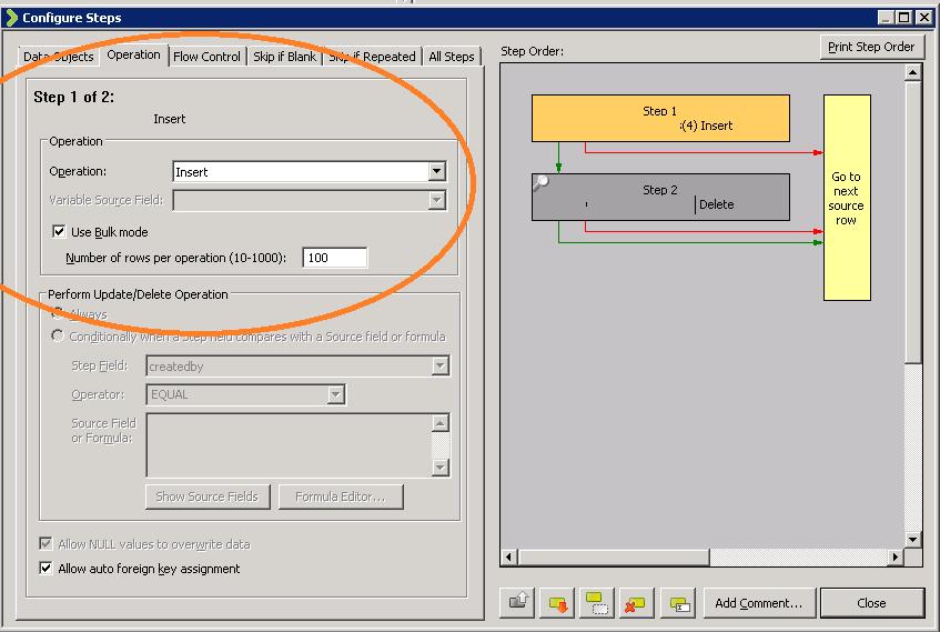 scribe insight 7 6 bulk operations  bulk insert  u0026 bulk delete